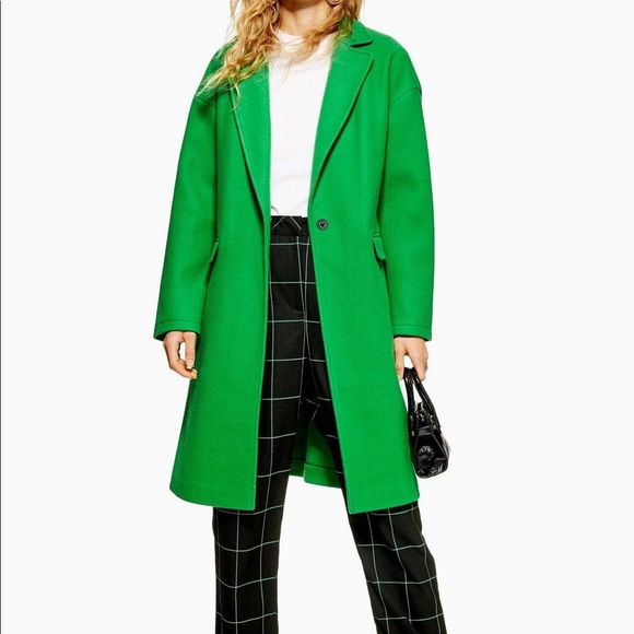 cheap sale big discount of 2019 fashion style Topshop coat NWT